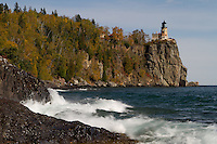 Split Rock Lighthouse on Lake Superior's North Shore.