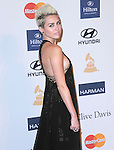 Miley Cyrus at The  Pre-GRAMMY Gala & Salute to Industry Icons with Clive Davis Honoring Antonio L.A. Reid held at The Beverly Hilton Hotel in Beverly Hills, California on February 09,2013                                                                   Copyright 2013 Hollywood Press Agency