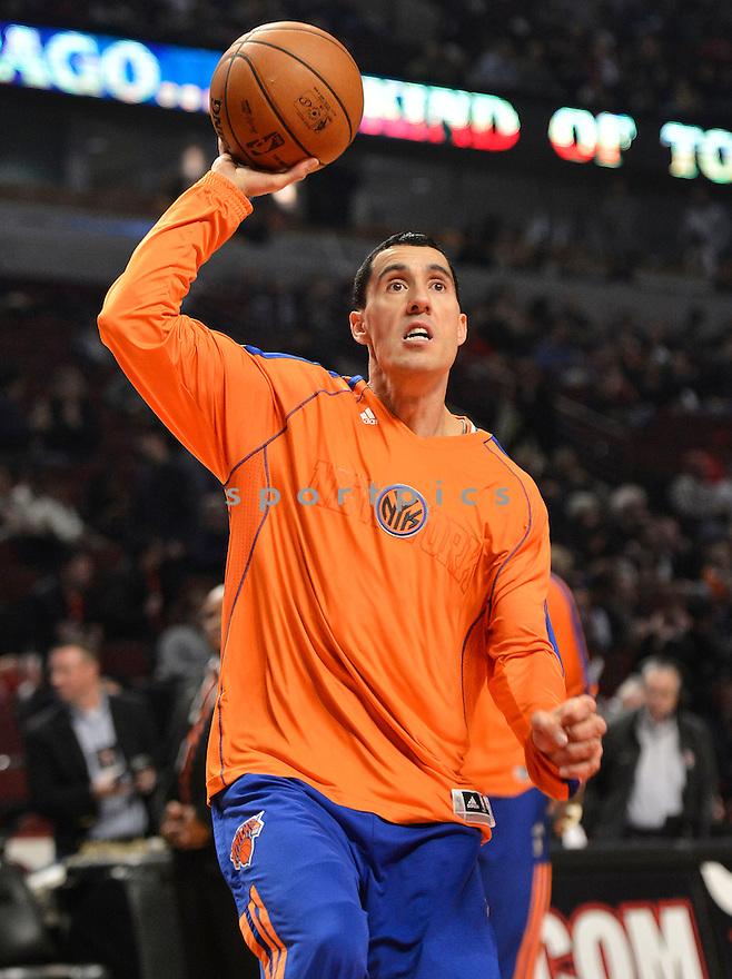 New York Knicks Pablo Prigioni (9)