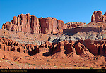 Fluted Wall, Capitol Reef National Park, Utah