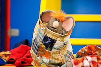 Warehouse Mouse in Disney Channel's 'The Imagination Movers' in the episode 'Happy Ha-Ha-Holidays.'