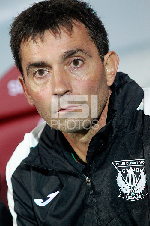 CD Leganes' coach Asier Garitano during La Liga match. September 15,2017.  *** Local Caption *** &copy; pixathlon<br /> Contact: +49-40-22 63 02 60 , info@pixathlon.de
