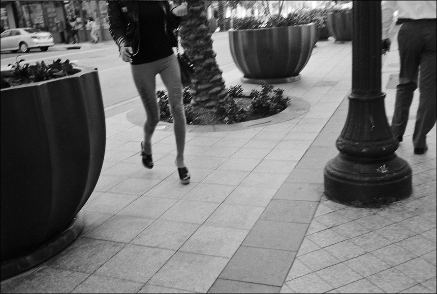 "From ""Walking downtown"" series. Downtown Miami, 2009"