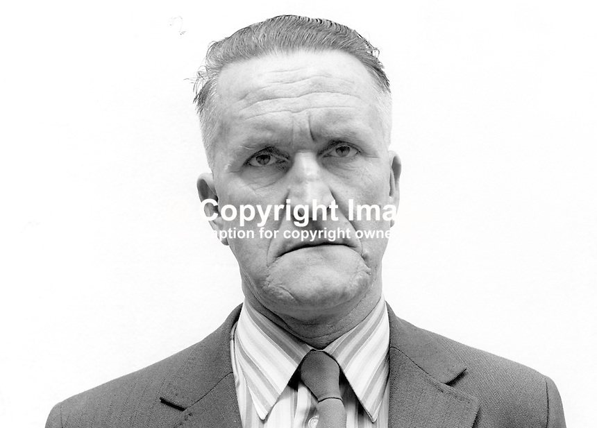 John O'Kane, Independent candidate, Mid-Ulster, N Ireland Assembly Election, June 1973. Although he submitted nomination papers he later withdrew. 197306000386<br /> <br /> Copyright Image from Victor Patterson, 54 Dorchester Park, Belfast, UK, BT9 6RJ<br /> <br /> t1: +44 28 9066 1296 (from Rep of Ireland 048 9066 1296)<br /> t2: +44 28 9002 2446 (from Rep of Ireland 048 9002 2446)<br /> m: +44 7802 353836<br /> <br /> e1: victorpatterson@me.com<br /> e2: victorpatterson@gmail.com<br /> <br /> The use of my copyright images is subject to my Terms &amp; Conditions.<br /> <br /> It is IMPORTANT that you familiarise yourself with them. They are available on my website at www.victorpatterson.com.<br /> <br /> None of my copyright images may be used on a website unless they are visibly watermarked, i.e. &copy; Victor Patterson within the body of the visible image. Metadata denoting my copyright must NOT be deleted. <br /> <br /> Web use (maximum size - 400 kb) is extra at currently recommended NUJ rates.