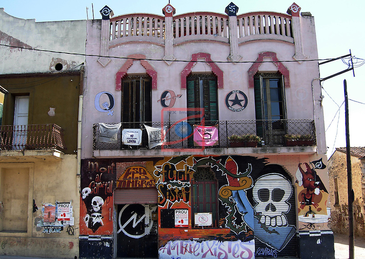 Street Art-Graffittis.<br /> Viladecans.