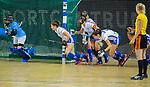 Almere - Zaalhockey Kampong-Push . uitlopen strafcorner   COPYRIGHT KOEN SUYK