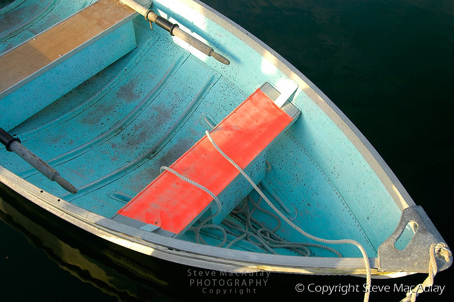 Bow of row boat - Stuart Island, San Juan Islands WA.
