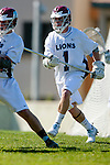 Los Angeles, CA 02/20/10 - Marc Napp (LMU # 1) in action during the USC-Loyola Marymount University MCLA/SLC divisional game at Leavey Field (LMU).  LMU defeated USC 10-7.