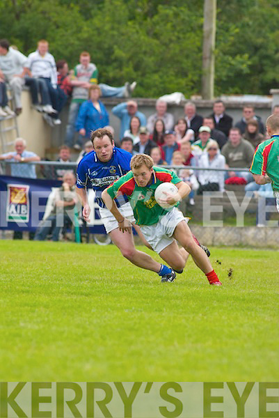 Mid Kerry v Laune Rangers in their County Championship match at Killorglin on Sunday..