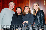 Shane Griffin, Eleanor Roche, Joan Marie Pierce and Fiona Brennan, pictured at Sickly Come Dancing, UHK, at Ballygarry House Hotel & Spa, Tralee on Friday night last.