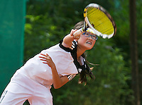 August 4, 2014, Netherlands, Dordrecht, TC Dash 35, Tennis, National Junior Championships, NJK,  Min Chae Kim (NED)<br /> Photo: Tennisimages/Henk Koster