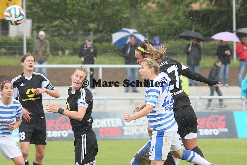 Kopfballtor Peggy Kuznik (FFC) zum 2:0 gegen Patrycja pozerska (MSV) - 1. FFC Frankfurt vs. MSV Duisburg