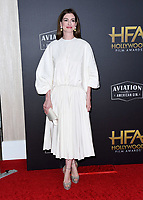 04 November 2018 - Beverly Hills, California - Anne Hathaway. 22nd Annual Hollywood Film Awards held at Beverly Hilton Hotel. <br /> CAP/ADM/BT<br /> &copy;BT/ADM/Capital Pictures