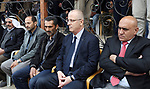 Palestinian Prime Minister Rami Hamdallah offered his condolences to the family of Moataz Bani Shamsa,  in the West Bank city of Nablus on May 20, 2017. Photo by Prime Minister Office
