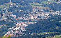 Blick auf Berchtesgaden vom Jenner aus - Berchtesgaden 17.07.2019: Fahrt auf den Jenner