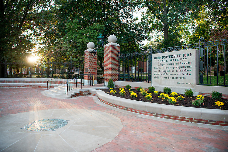 College Gateway, Fall, College Green