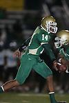 Carson  Colts vs Long Beach Poly (CIF Southern Section).#14 - Morgan Fennell.Veteran Memorial Stadium.Long Beach, California  21 Sept 2007.KN1R6203.JPG.CREDIT: Dirk Dewachter