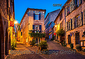 Tom Mackie, LANDSCAPES, LANDSCHAFTEN, PAISAJES, photos,+Cordes sur Ciel, Europa, Europe, European, France, Languedoc, Midi Pyrenees, Occitanie, blue hour, building, buildings, cobbl+e, cobblestone, destination, destinations, dramatic outdoors, dusk, horizontal, horizontals, lane, mood, moody, night, nights+cene, path, pathways, road, street, tarn, time of day, tourist attraction, travel, twilight, walls,Cordes sur Ciel, Europa, E+urope, European, France, Languedoc, Midi Pyrenees, Occitanie, blue hour, building, buildings, cobble, cobblestone, destinatio+,GBTM180271-1,#l#, EVERYDAY