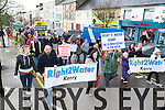 The Water protest passes through Castleisland on Saturday