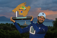 Francesco Laporta (ITA) winner of the Challenge Tour Grand Final 2019 at Club de Golf Alcanada, Port d'Alcúdia, Mallorca, Spain on Sunday 10th November 2019.<br /> Picture:  Thos Caffrey / Golffile<br /> <br /> All photo usage must carry mandatory copyright credit (© Golffile | Thos Caffrey)