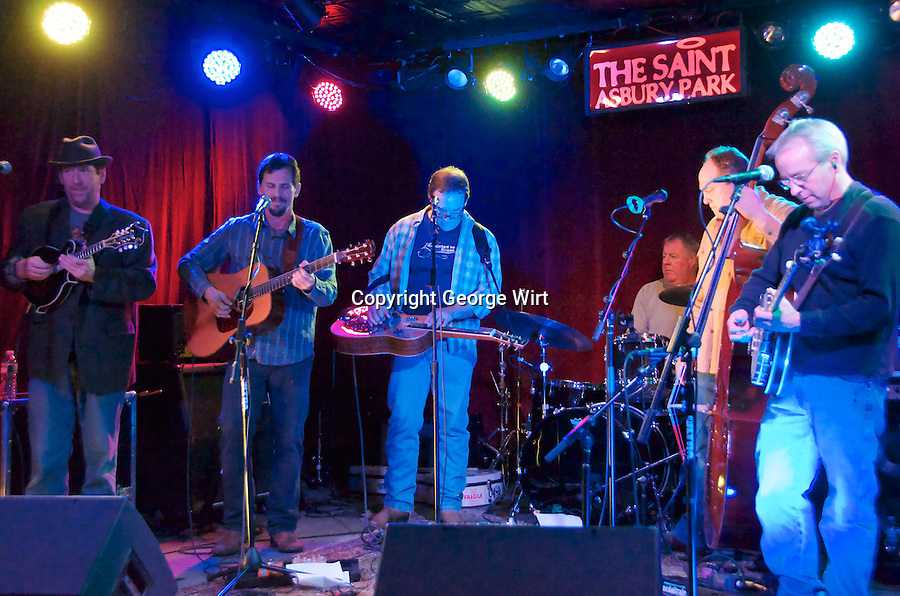 The Glimmer Grass Band appeared at The Saint in Asbury Park as part of the 13th annual Light of Day fundraiser for Parkinson's research. More than 100 musicians participated in 24 shows in local venues over five nights.