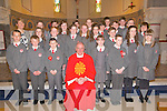 Pupils from 6th class Dromclough NS, Listowel  who were confirmed in St. Michael's Church, Lixnaw on Tuesday last by Canon Declan O'Connor, PP Listowel.