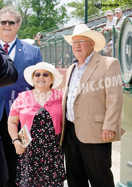 The Eldon Nelson induction into Delaware Park's Wall of Fame at Delaware Park racetrack on 6/14/14