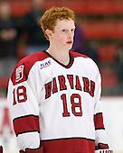 Mike Seward (Harvard - 18) - The Harvard University Crimson defeated the visiting Colgate University Raiders 4-2 on Saturday, November 12, 2011, at Bright Hockey Center in Cambridge, Massachusetts.