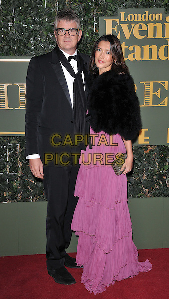 Jay Jopling &amp; Hikari Yokoyama attend the London Evening Standard Theatre Awards 2015, The Old Vic, The Cut, London, England, UK, on Sunday 22 November 2015.<br /> CAP/CAN<br /> &copy;CAN/Capital Pictures