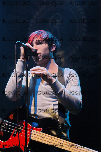 FALL OUT BOY - performing live at the Astoria in London UK - 30 Jan 2006.  Photo credit: PG Brunelli/IconicPix