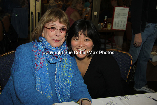 Phyliss Newman and Ann Harada at The 24th Annual Broadway Flea Market & Grand Auction to benefit Broadway Cares/Equity Fight Aids on September 26, 2010 in Shubert Alley, New York City, New York. (Photo by Sue Coflin/Max Photos)
