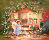 Dona Gelsinger, CHILDREN, paintings(USGE0405,#K#) Kinder, niños, illustrations, pinturas angels, ,everyday