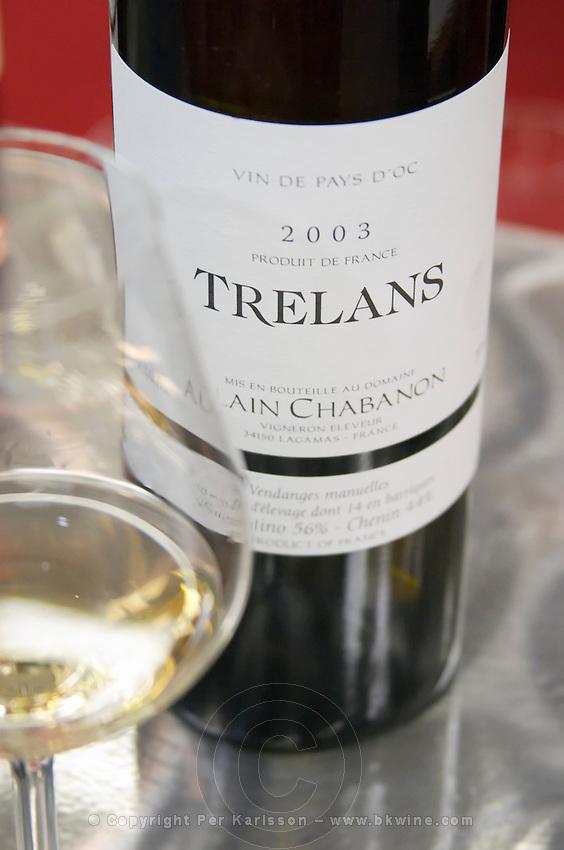 Vin de Pays d'Oc Trelans, Alain Chabanon, Languedoc, France