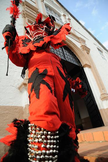 El Diablo Rojo / Diablo Rojo en Festival de Congos y Diablos, Portobelo. Panamá.