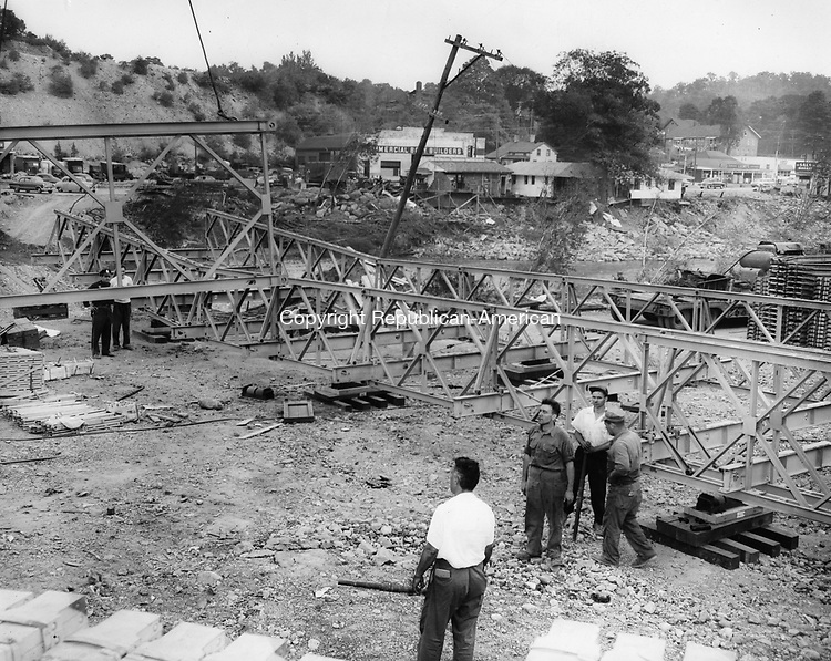 Bailey Bridge under construction