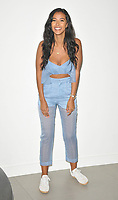 Maya Jama at the &quot;True Love or True Lies?&quot; MTV brand new show launch photocall, MTV HQ, Hawley Crescent, London, England, UK, on Tuesday 07 August 2018.<br /> CAP/CAN<br /> &copy;CAN/Capital Pictures