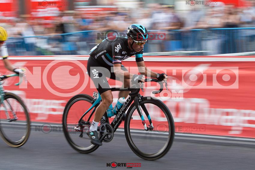 Peter  Kennaaugh during the last stage or La Vuelta of Spain in Madrid. September 10, 2016. (ALTERPHOTOS/Rodrigo Jimenez) NORTEPHOTO.COM