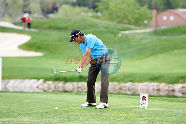 Carlos Rodiles tee shot on 17 in the final round of the Open de Espana in Madrid...Photo NEWSFILE/Manus O'Reilly.(Photo credit should read Manus O'Reilly/NEWSFILE)....This Picture has been sent you under the condtions enclosed by:.Newsfile Ltd..The Studio,.Millmount Abbey,.Drogheda,.Co Meath..Ireland..Tel: +353(0)41-9871240.Fax: +353(0)41-9871260.GSM: +353(0)86-2500958.email: pictures@newsfile.ie.www.newsfile.ie.FTP: 193.120.102.198..