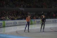 SCHAATSEN: AMSTERDAM: Olympisch Stadion, 10-03-2018, WK Allround, Coolste Baan van Nederland, ©foto Martin de Jong