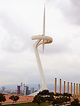 Olympic Stadium - Estadi Olímpic de Montjuïc in Barcelona, Spain.