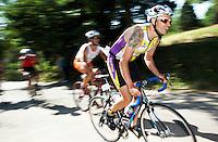 05 JUN 2010 - MADRID, ESP - Jose Rodriguez Notario - Spanish Age Group Triathlon Championships (PHOTO (C) NIGEL FARROW)