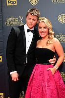 BURBANK - APR 26: Chad Duell, Kristen Alderson at the 42nd Daytime Emmy Awards Gala at Warner Bros. Studio on April 26, 2015 in Burbank, California