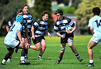 Action from the 2017 Hurricanes Youth Council Under-16 Tournament match between East Coast and Hawkes Bay Development at Wanganui Collegiate in Wanganui, New Zealand on Tuesday, 3 October 2017. Photo: Dave Lintott / lintottphoto.co.nz