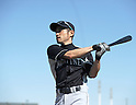 Ichiro Suzuki (Mariners),.FEBRUARY 18, 2012 - MLB :.Seattle Mariners spring training camp at Peoria Sports Complex in Peoria, Arizona, United States. (Photo by AFLO)