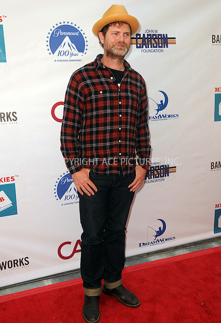 WWW.ACEPIXS.COM . . . . .  ....April 15 2012, LA....Rainn Wilson arriving at the 3rd Annual Milk And Bookies Story Time Celebration at the Skirball Cultural Center on April 15, 2012 in Los Angeles, California.....Please byline: PETER WEST - ACE PICTURES.... *** ***..Ace Pictures, Inc:  ..Philip Vaughan (212) 243-8787 or (646) 769 0430..e-mail: info@acepixs.com..web: http://www.acepixs.com