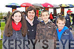 Maire, Margaret, Paul and Mark O'Shea, Kilcummin enjoying a family day out at the Killarney Races on Sunday