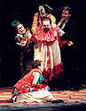 1999 - PAGLIACCI - Canio (Antonio Barasorda) has just fatally stabbed his unfaithful wife, Nedda in Opera Pacifics performance of Pagliacci.