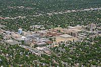 Medical complex, Colorado Blvd, Denver, Colorado. June 2014