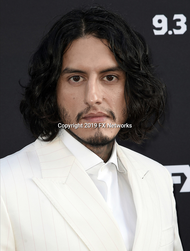 "LOS ANGELES - AUGUST 27: Richard Cabral attends the season two red carpet premiere of FX's ""Mayans M.C"" at the ArcLight Dome on August 27, 2019 in Los Angeles, California. (Photo by Scott Kirkland/FX/PictureGroup)"
