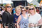 Geraldine Fleming, Anna Rahilly, Susan Murhill and Marie Lynch at Bikefest in Killarney on Sunday.